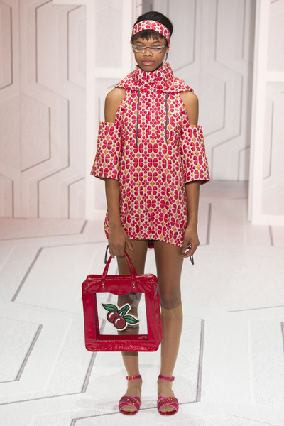 Anya Hindmarch Spring 2018 Ready-to-Wear - Look #40