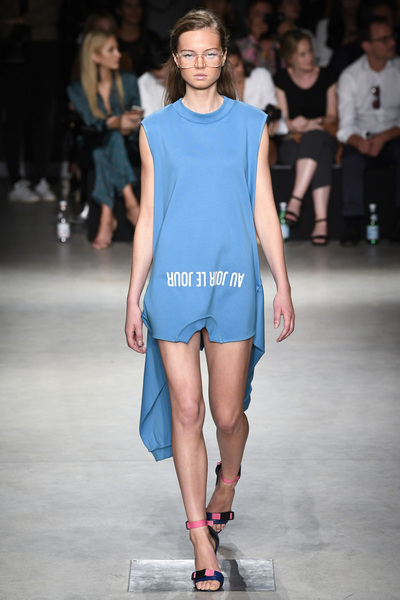 Au Jour Le Jour Spring 2018 Ready-to-Wear - Look #10