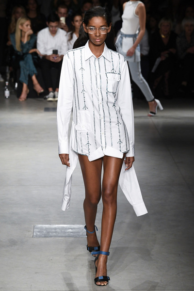 Au Jour Le Jour Spring 2018 Ready-to-Wear - Look #14