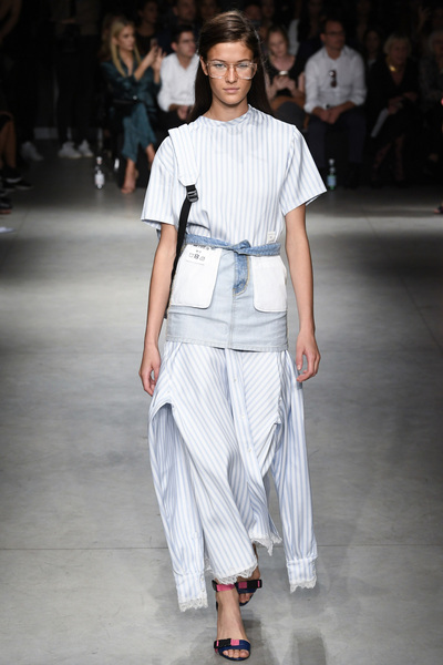 Au Jour Le Jour Spring 2018 Ready-to-Wear - Look #15