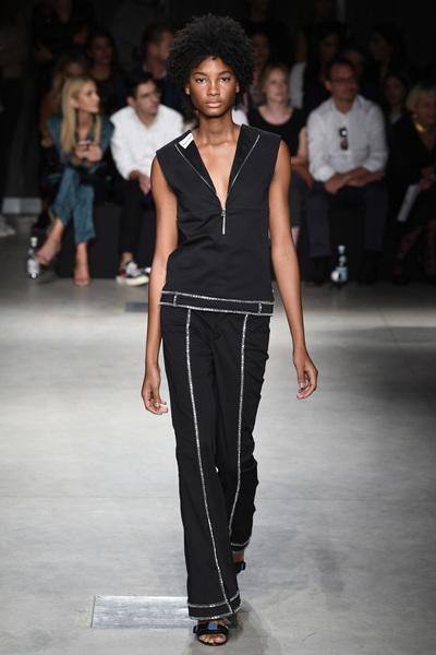 Au Jour Le Jour Spring 2018 Ready-to-Wear - Look #26