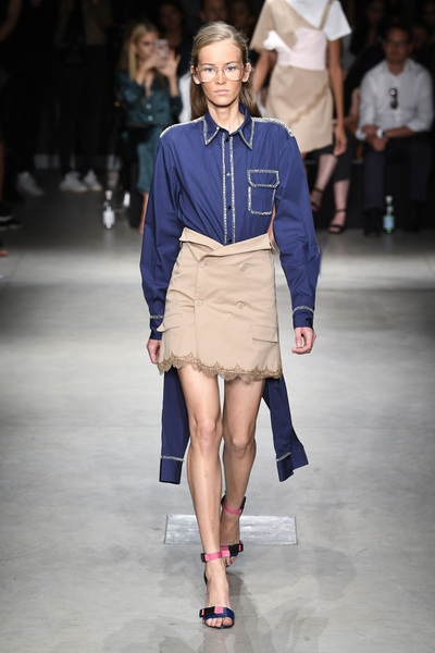 Au Jour Le Jour Spring 2018 Ready-to-Wear - Look #4
