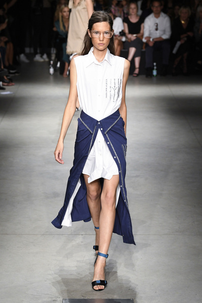 Au Jour Le Jour Spring 2018 Ready-to-Wear - Look #5
