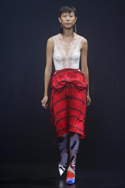 Balenciaga Spring 2018 Ready-to-Wear - Look #44