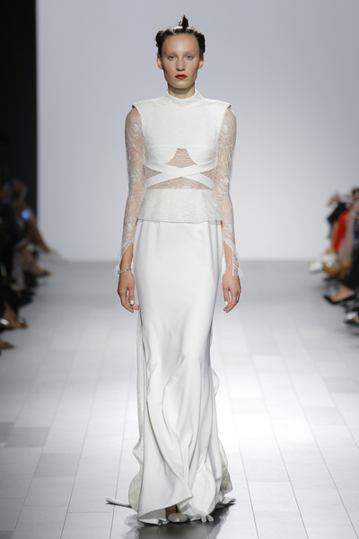 Bibhu Mohapatra Spring 2018 Ready-to-Wear - Look #30