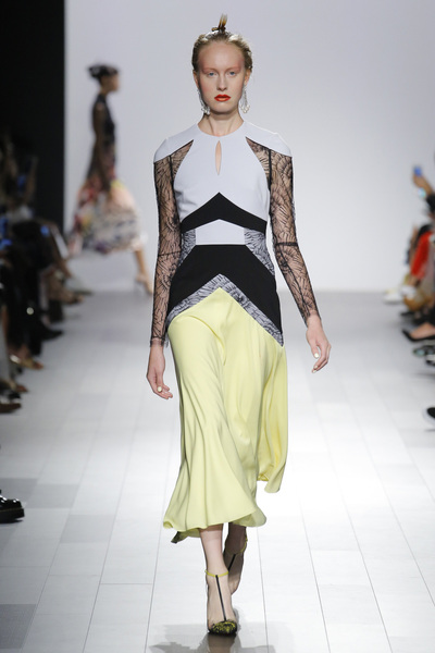 Bibhu Mohapatra Spring 2018 Ready-to-Wear - Look #8