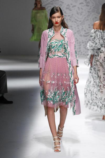 Blumarine Spring 2018 Ready-to-Wear - Look #27