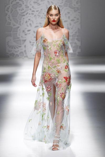 Blumarine Spring 2018 Ready-to-Wear - Look #48