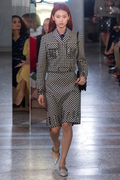 Bottega Veneta Spring 2018 Ready-to-Wear - Look #1