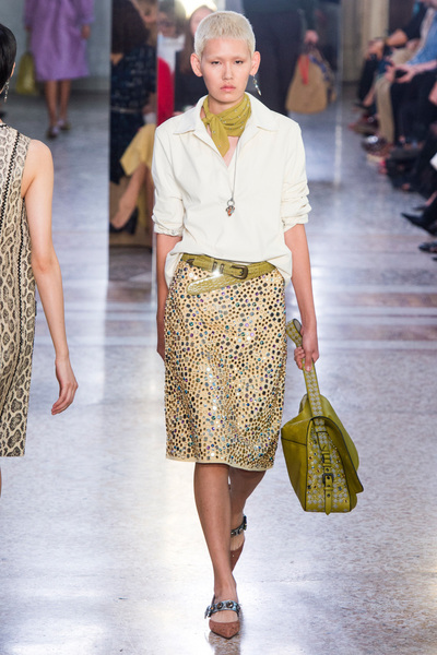 Bottega Veneta Spring 2018 Ready-to-Wear - Look #15