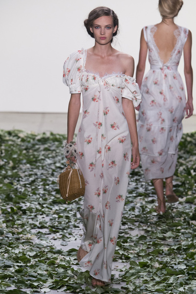Brock Collection Spring 2018 Ready-to-Wear - Look #10