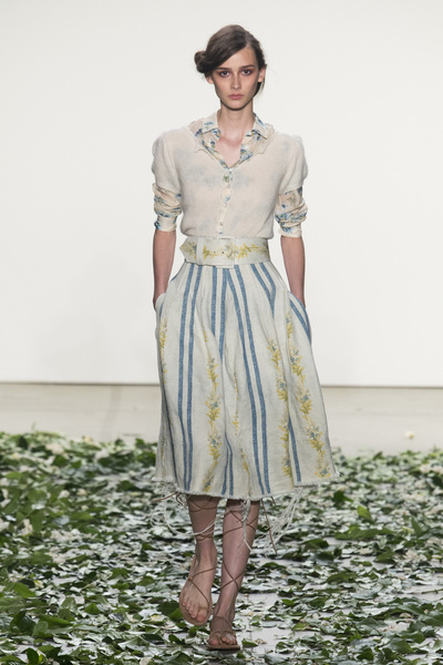 Brock Collection Spring 2018 Ready-to-Wear - Look #17
