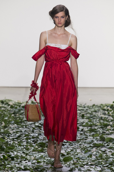 Brock Collection Spring 2018 Ready-to-Wear - Look #2