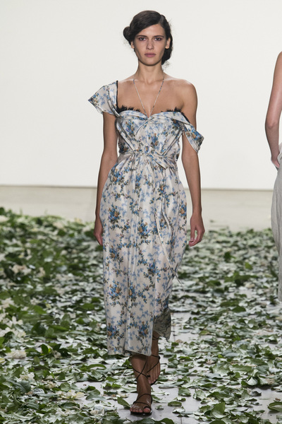 Brock Collection Spring 2018 Ready-to-Wear - Look #22
