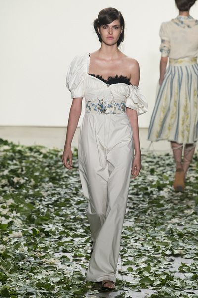 Brock Collection Spring 2018 Ready-to-Wear - Look #23