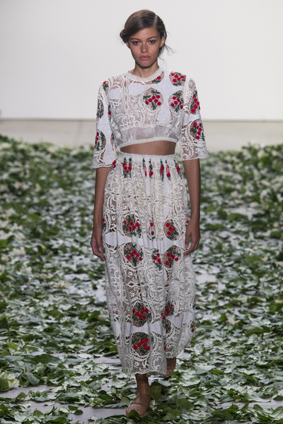 Brock Collection Spring 2018 Ready-to-Wear - Look #3
