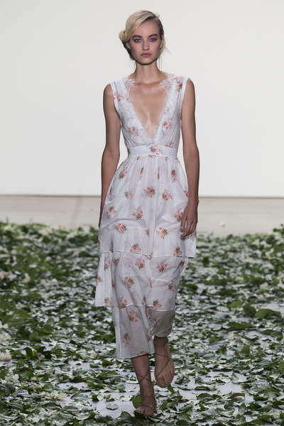 Brock Collection Spring 2018 Ready-to-Wear - Look #4