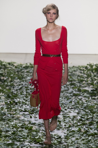 Brock Collection Spring 2018 Ready-to-Wear - Look #6