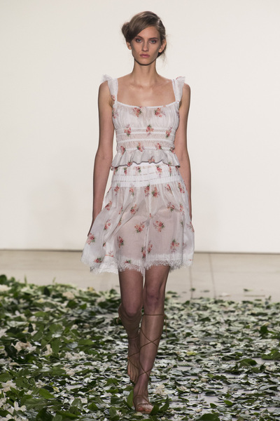 Brock Collection Spring 2018 Ready-to-Wear - Look #8
