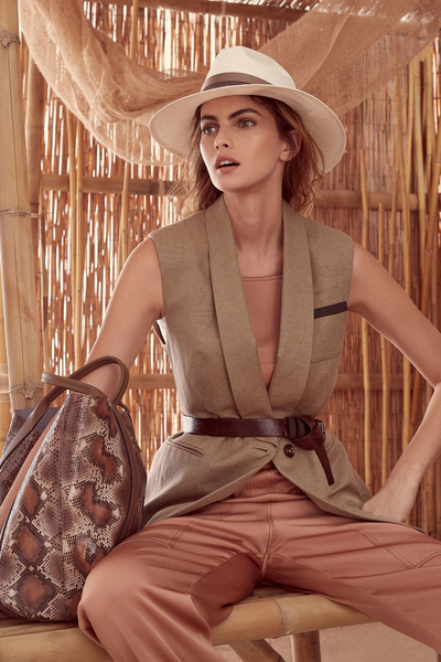 Brunello Cucinelli Spring 2018 Ready-to-Wear - Look #18