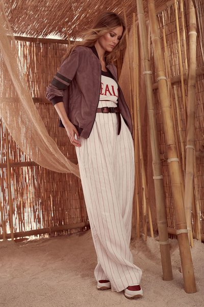 Brunello Cucinelli Spring 2018 Ready-to-Wear - Look #22