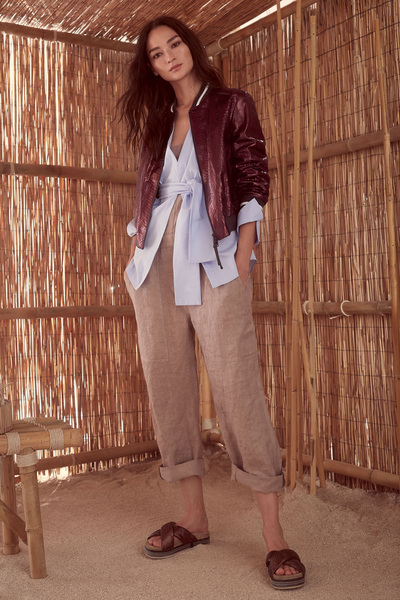 Brunello Cucinelli Spring 2018 Ready-to-Wear - Look #8