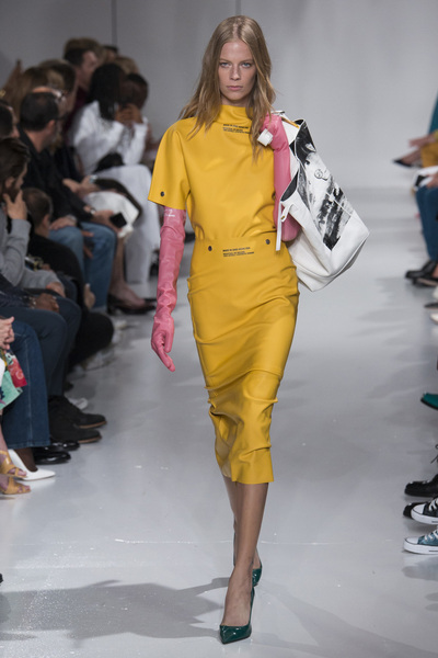 Calvin Klein 205W39NYC Spring 2018 Ready-to-Wear - Look #58
