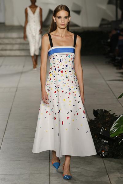 Carolina Herrera Spring 2018 Ready-to-Wear - Look #25