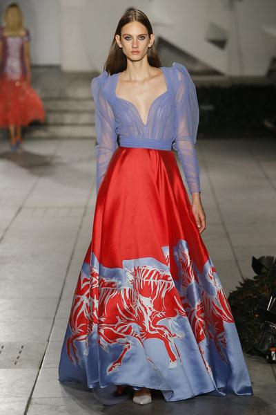Carolina Herrera Spring 2018 Ready-to-Wear - Look #38