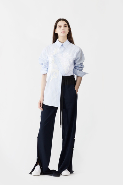 Cedric Charlier Spring 2018 Ready-to-Wear - Look #2