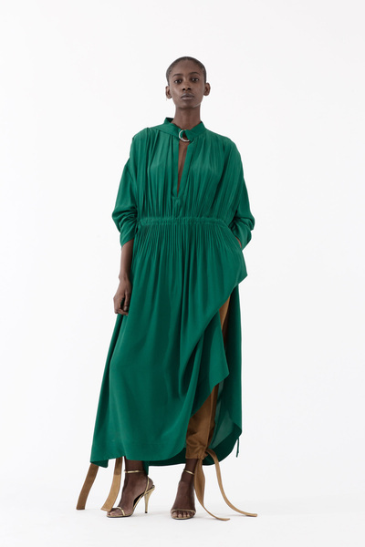 Cedric Charlier Spring 2018 Ready-to-Wear - Look #20