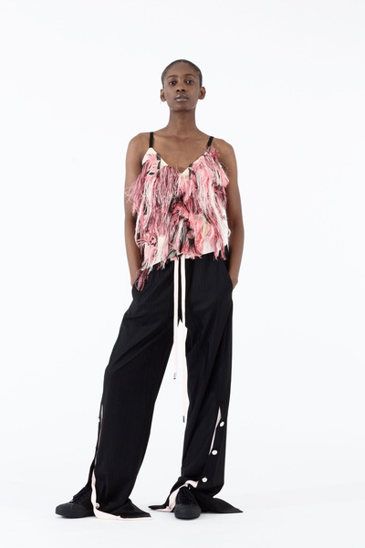 Cedric Charlier Spring 2018 Ready-to-Wear - Look #28