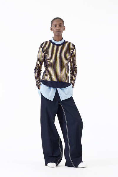 Cedric Charlier Spring 2018 Ready-to-Wear - Look #38