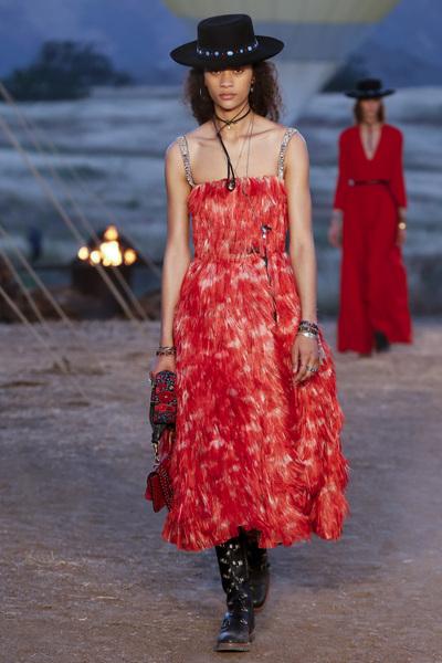 Christian Dior Resort 2018 - Look #34