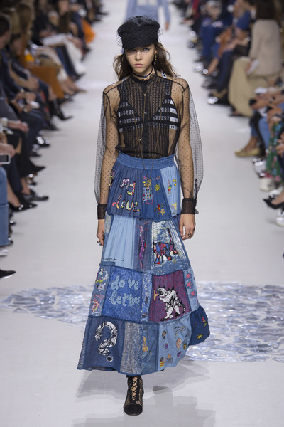 Christian Dior Spring 2018 Ready-to-Wear - Look #51