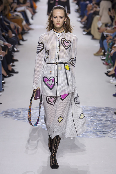 Christian Dior Spring 2018 Ready-to-Wear - Look #58