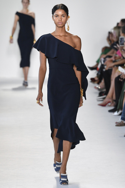 Christian Siriano Spring 2018 Ready-to-Wear - Look #5