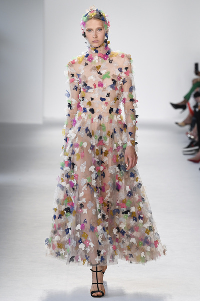 Christian Siriano Spring 2018 Ready-to-Wear - Look #52