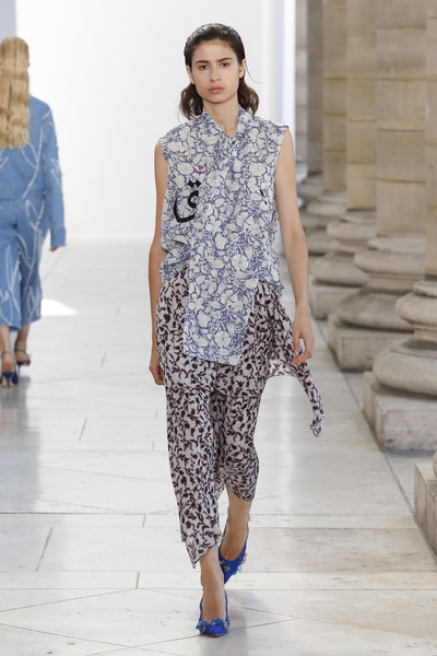 Christian Wijnants Spring 2018 Ready-to-Wear - Look #14