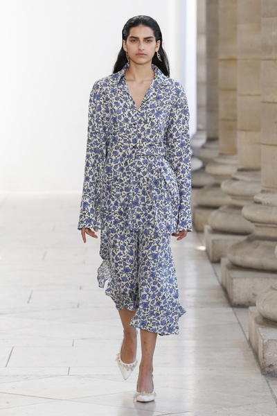 Christian Wijnants Spring 2018 Ready-to-Wear - Look #19