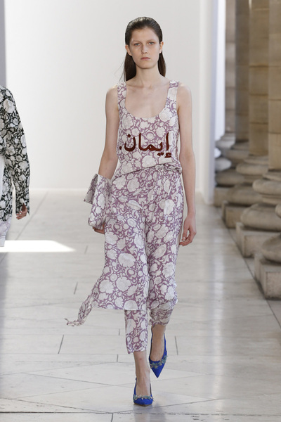 Christian Wijnants Spring 2018 Ready-to-Wear - Look #2