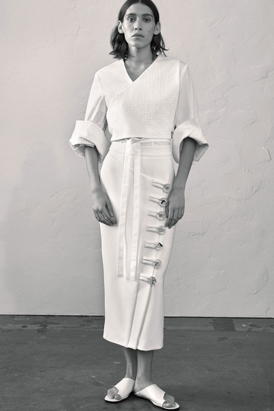 Christopher Esber Spring 2018 Ready-to-Wear - Look #16