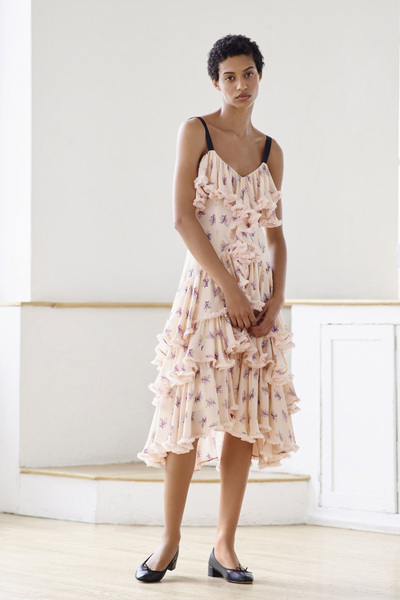 Cinq A Sept Resort 2018 - Look #7