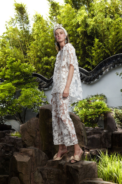 Cynthia Rowley Resort 2018 - Look #10