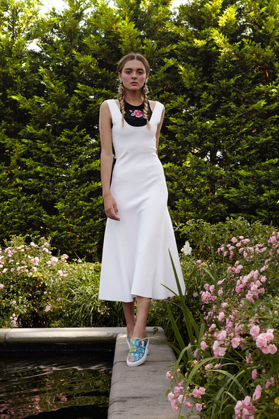 Cynthia Rowley Resort 2018 - Look #21