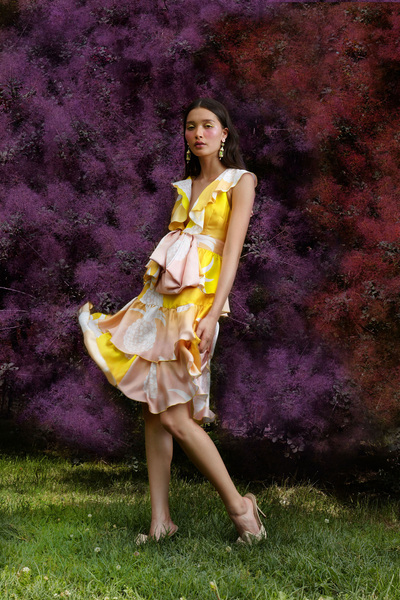 Cynthia Rowley Resort 2018 - Look #7