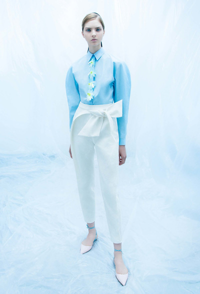 DELPOZO Resort 2018 - Look #16