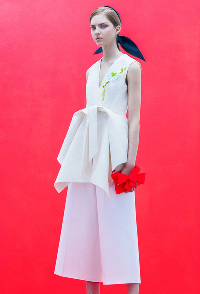 DELPOZO Resort 2018 - Look #19
