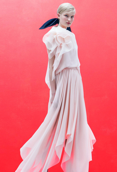 DELPOZO Resort 2018 - Look #27