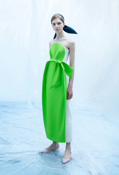 DELPOZO Resort 2018 - Look #6